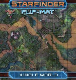 Paizo Publishing Starfinder RPG: Flip-Mat - Jungle World