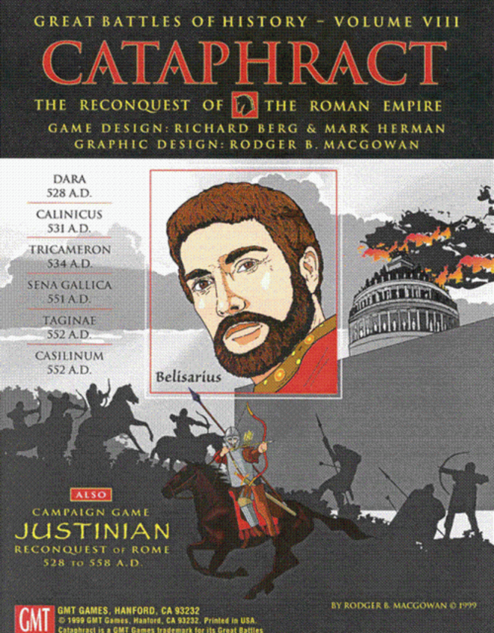 GMT Games Cataphract 2nd Printing