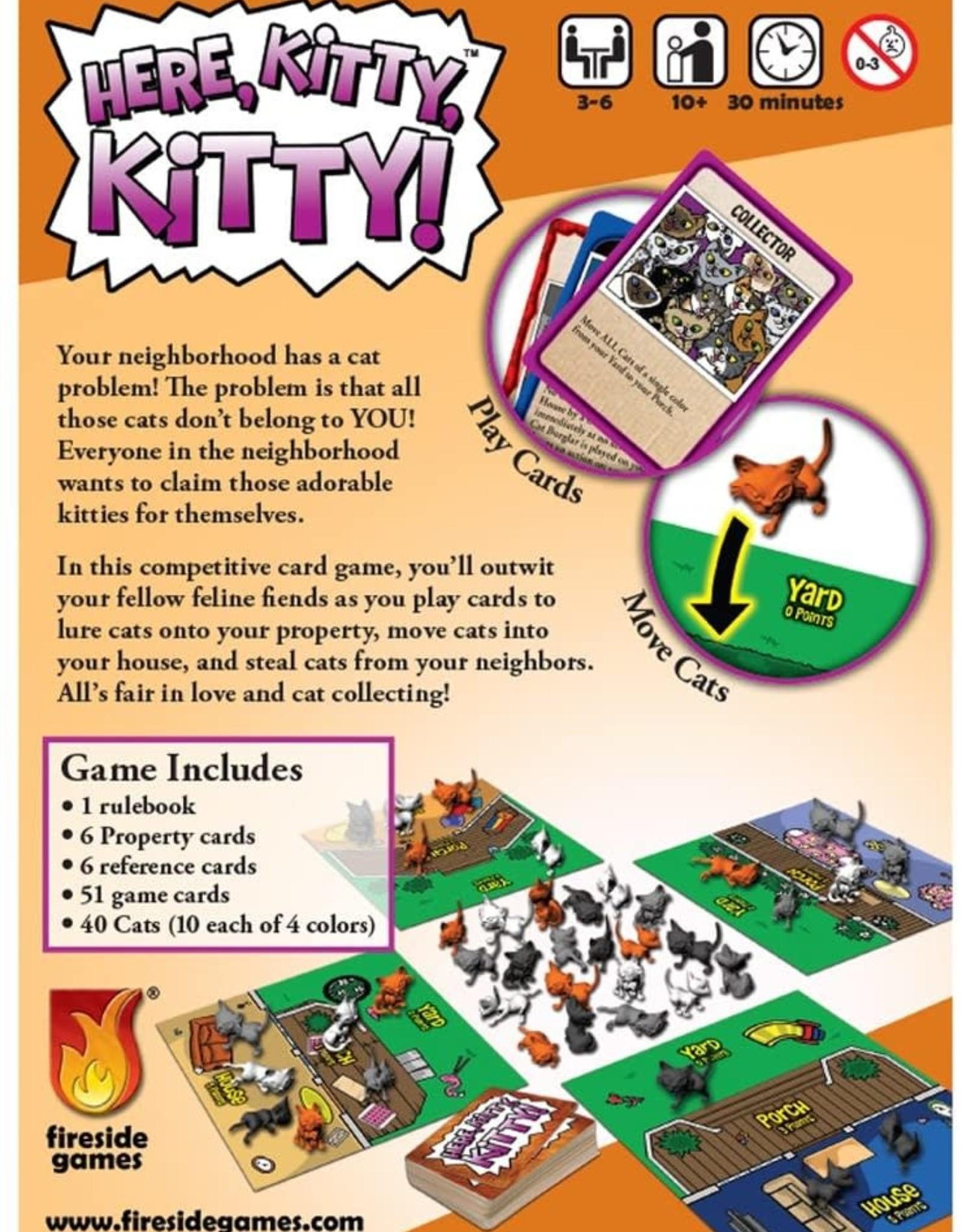 Fireside Games Here Kitty Kitty!