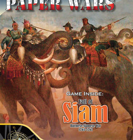 Compass Games Paper Wars #94: Fall of Siam (Magazine & Game)