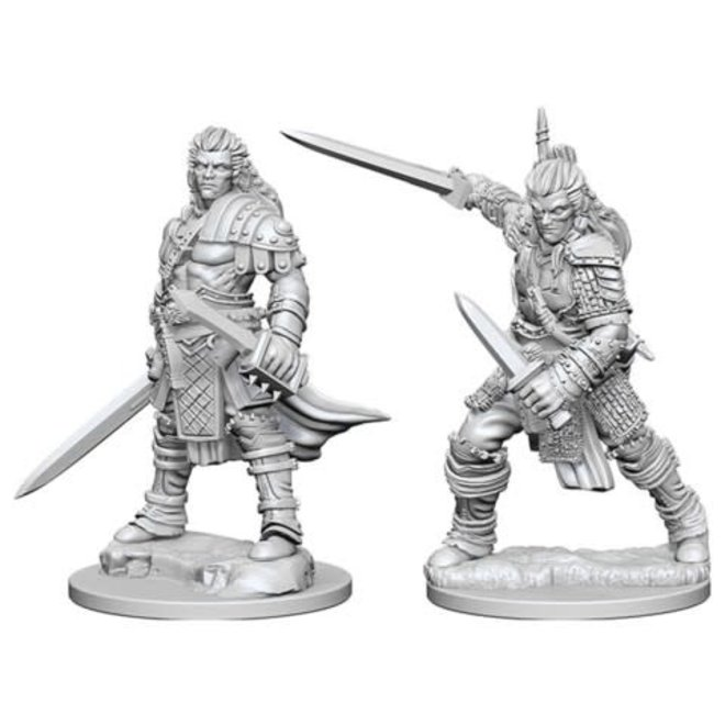 D&D NM: Male Human Fighter