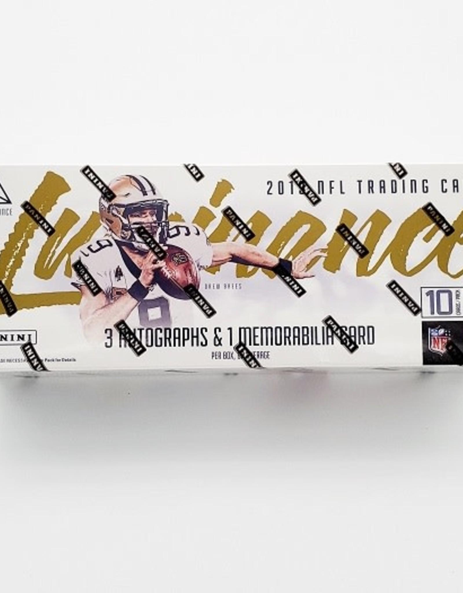 Panini America 2019 Panini Luminance Football Hobby Box