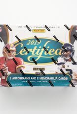 Panini America 2019 Panini Certified Football Hobby Box