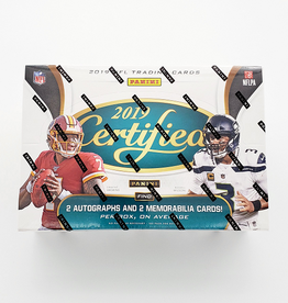 Panini America 2019 Panini Certified Football Hobby Box