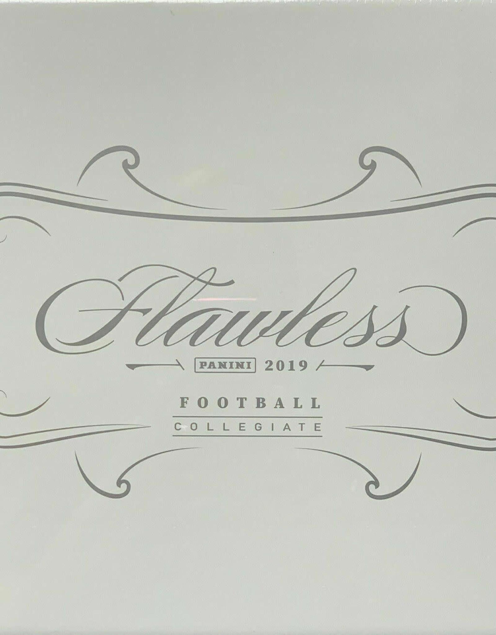 Panini America 2019 Panini Flawless Collegiate Football Hobby
