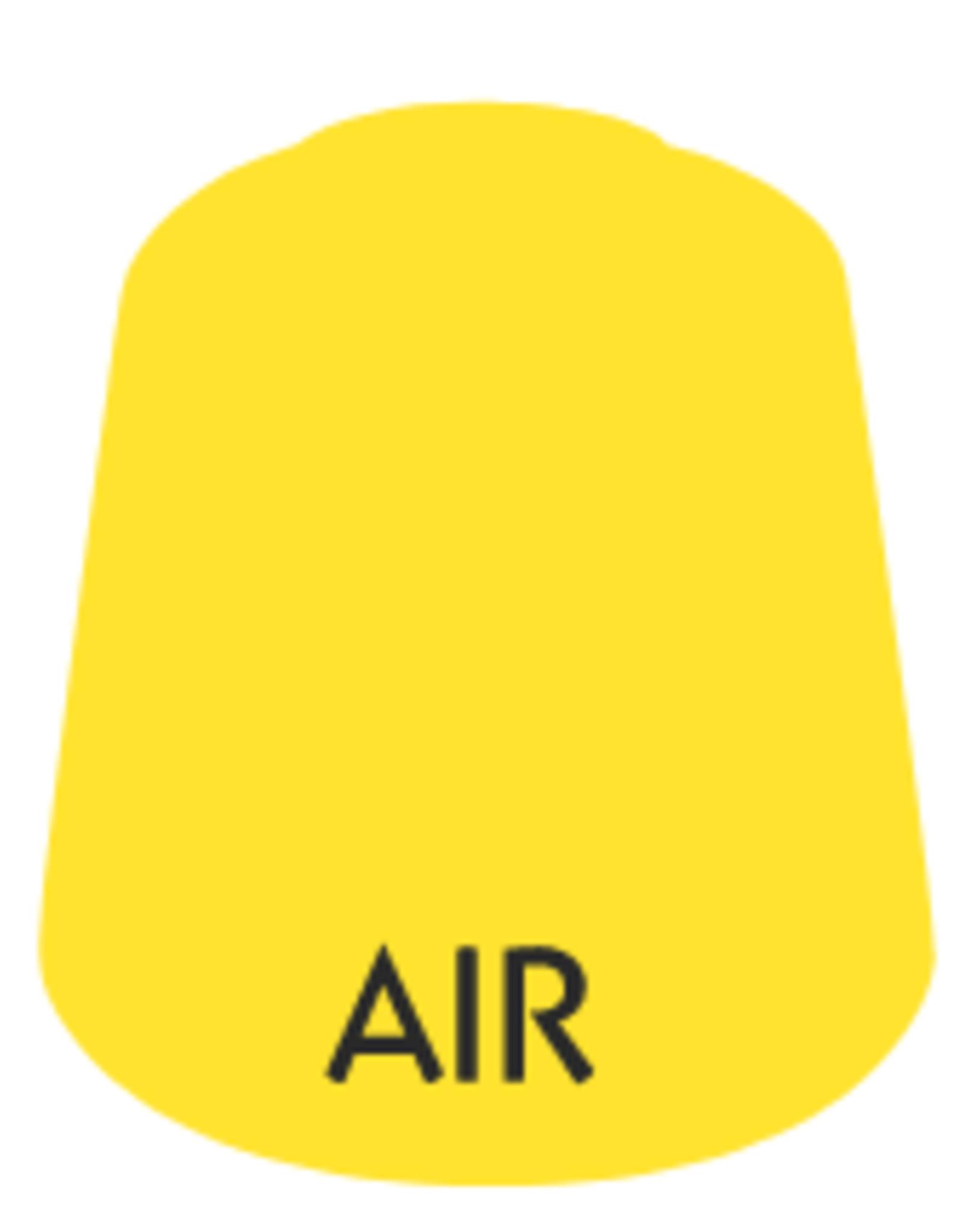 Games Workshop Air: Sigismund  Yellow  Clear (24ml) Paint