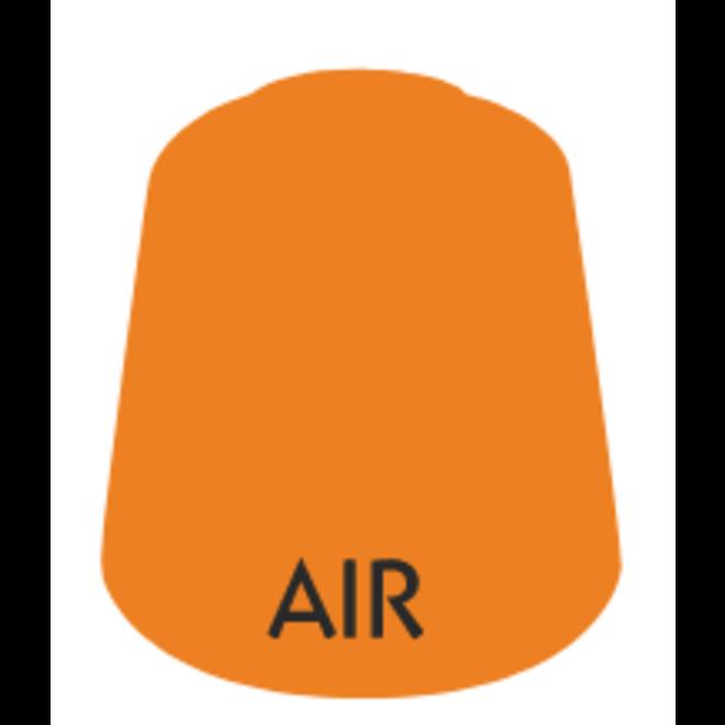 Air: Pyroclast  Orange Clear