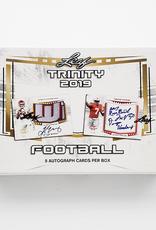 Leaf Trading Cards 2019 Leaf Trinity Football Hobby Box