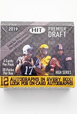 SAGE Collectibles 2019 SAGE Hit Football Premier Draft High Series Hobby Box