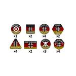 Battlefront Miniatures Ltd Team Yankee German Token Set
