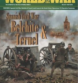 Decision Games World at War #62: Spanish Civil War Battles - Belchite & Teruel