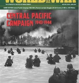 Decision Games World at War #63: The Central Pacific Campaign