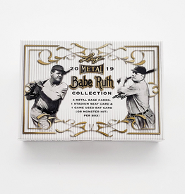 Leaf Trading Cards 2019 Leaf Metal Babe Ruth Collection Baseball