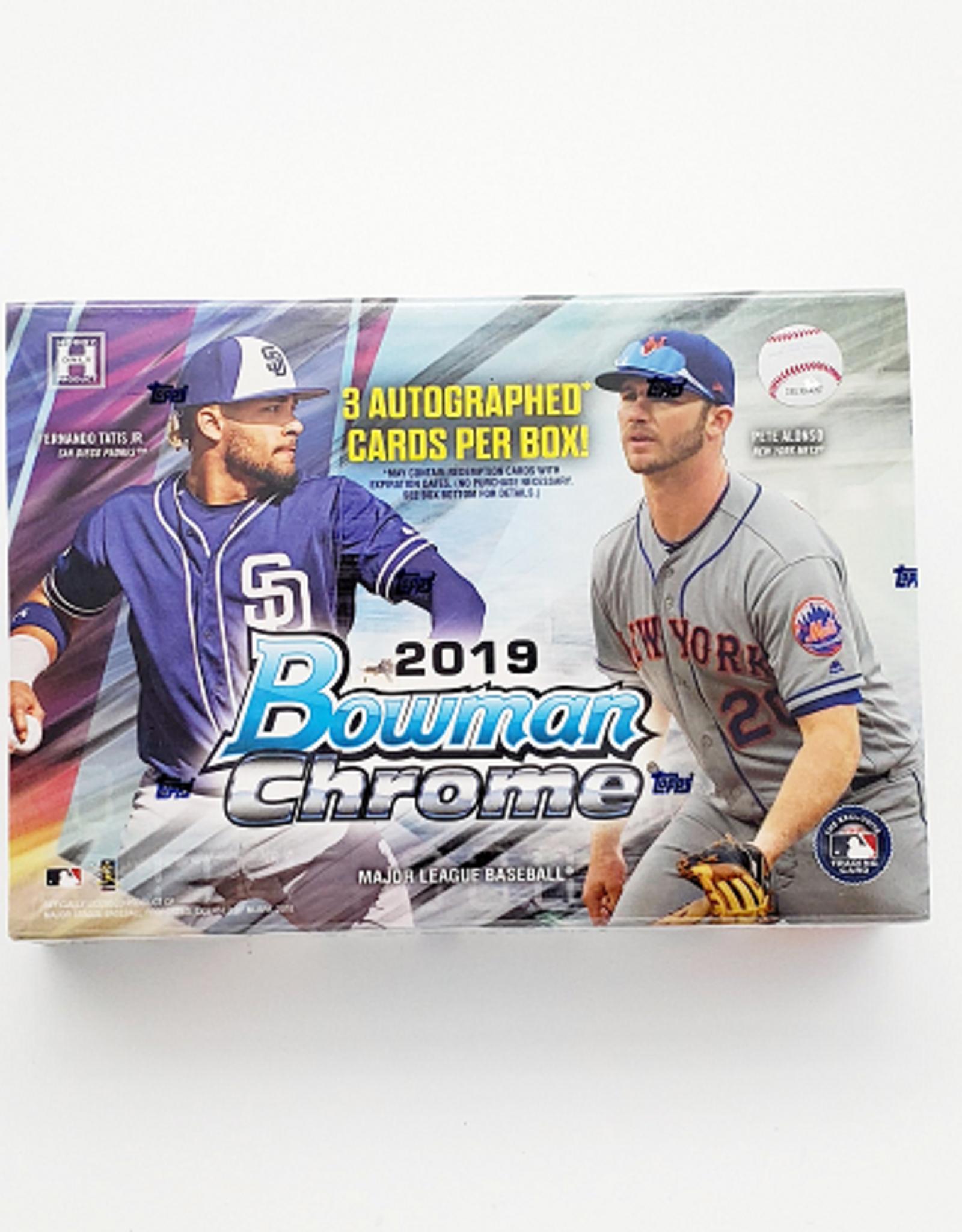 Topps 2019 Bowman Chrome Baseball HTA Choice