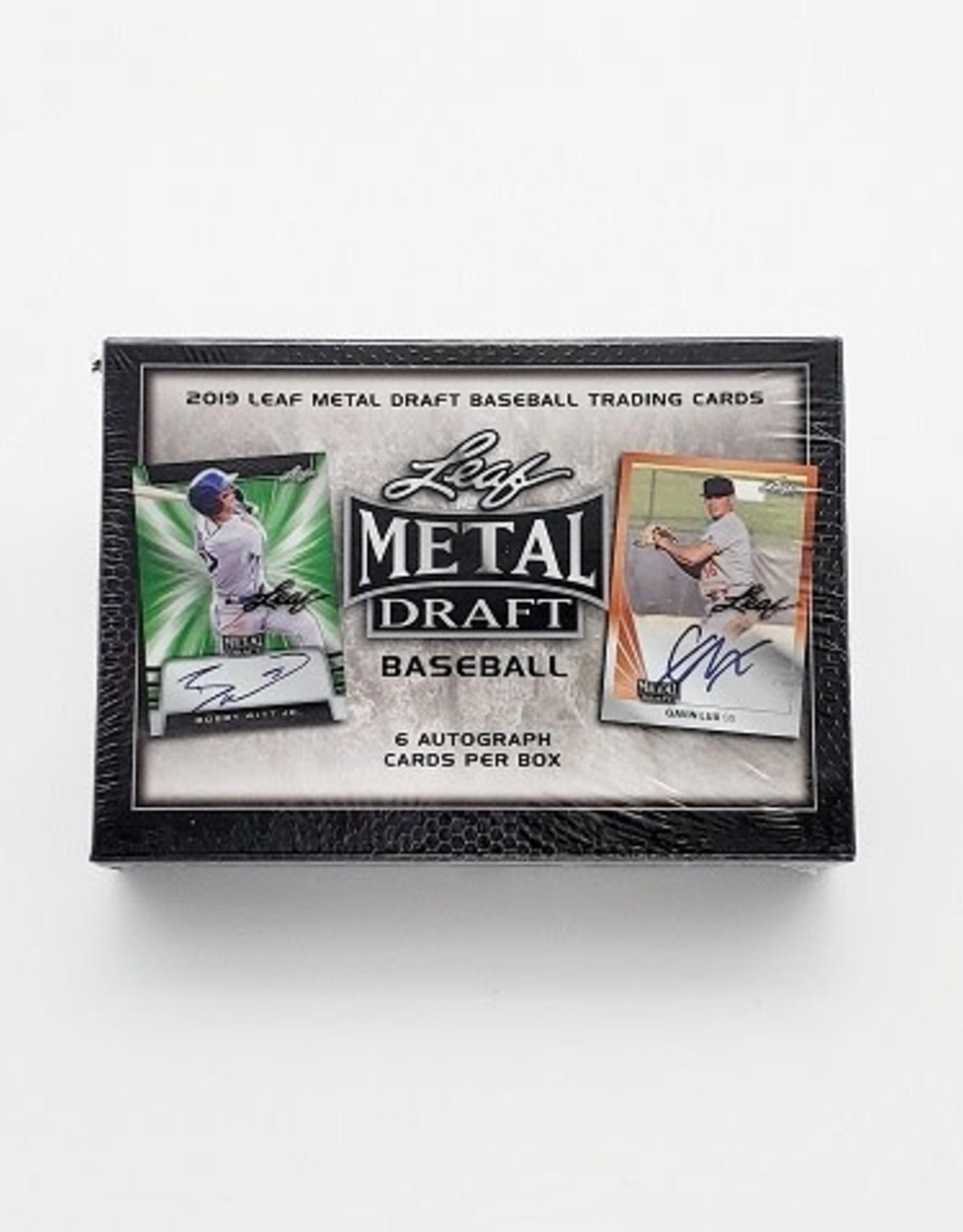 Leaf Trading Cards 2019 Leaf Metal Draft Baseball