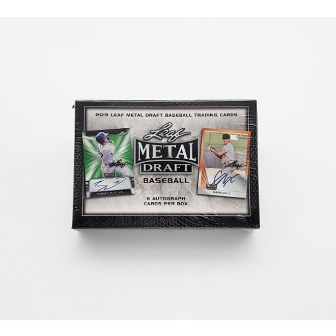 2019 Leaf Metal Draft Baseball