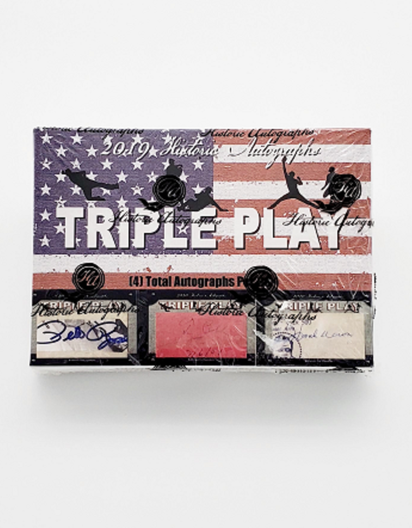 Historic Autograph Company 2019 Historic Autographs Triple Play Baseball