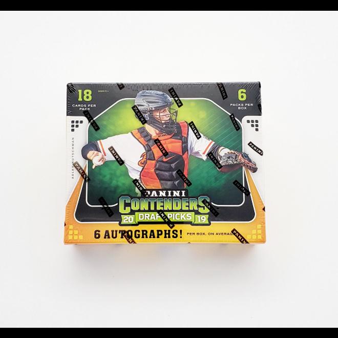 2019 Panini Contenders Draft Picks Collegiate Baseball Hobby Box
