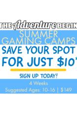 The Adventure Begins Summer Camp Deposit - The Adventure Begins Gaming Camps