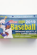 Topps 2019 Topps Heritage High Number Baseball Hobby Box