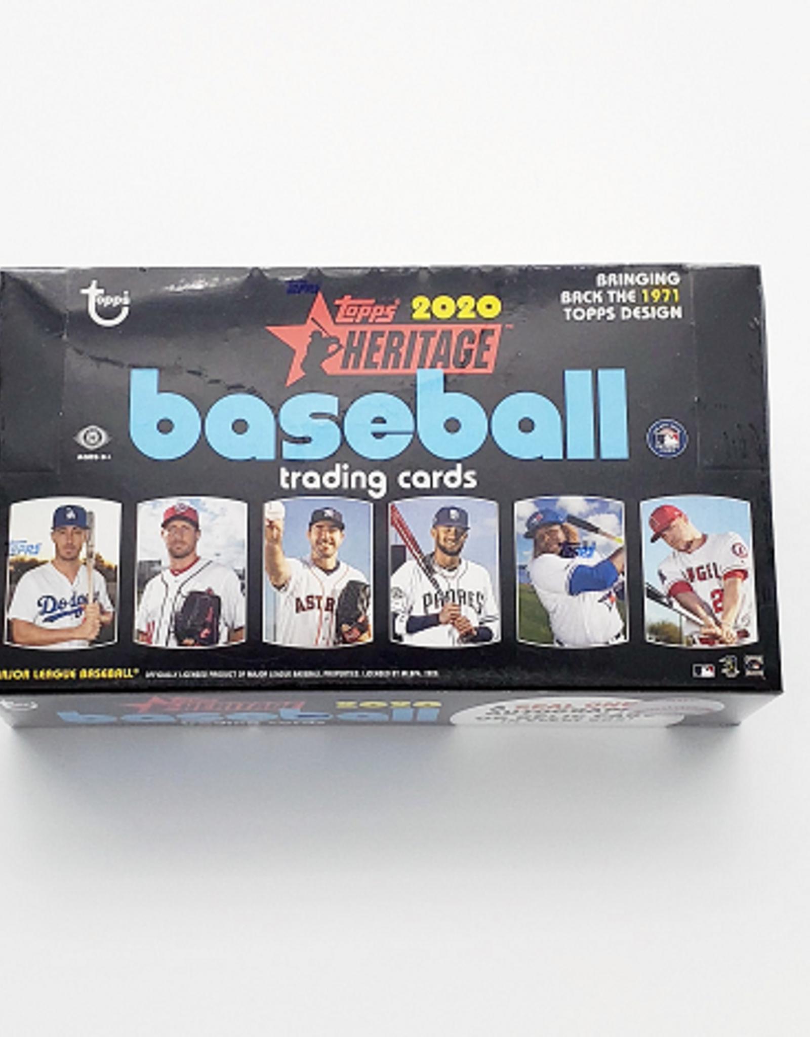 Topps 2020 Topps Heritage Baseball Hobby Box