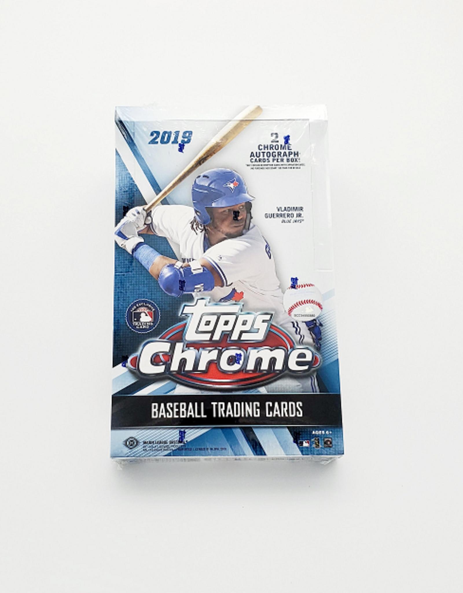 Topps 2019 Topps Chrome Baseball Hobby Box