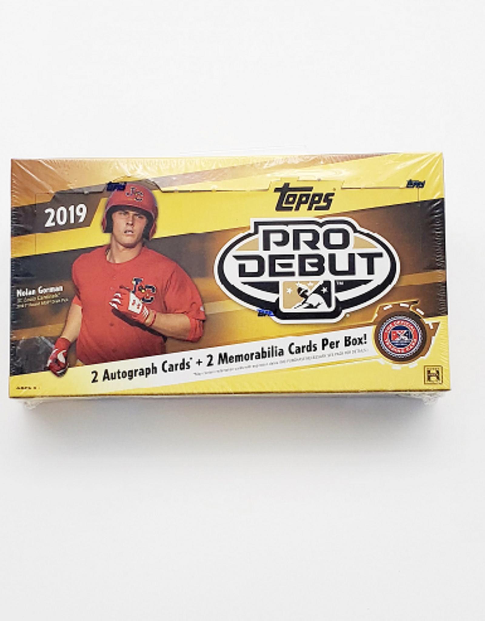 Topps 2019 Topps Pro Debut Baseball