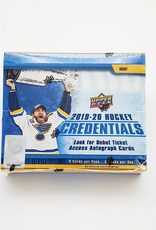 Upper Deck 2019-20 Upper Deck Credentials Hockey