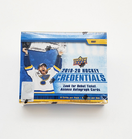 Upper Deck 2019-20 Upper Deck Credentials Hockey