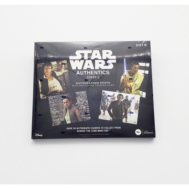 2019 Topps Star Wars Authentics Series 2