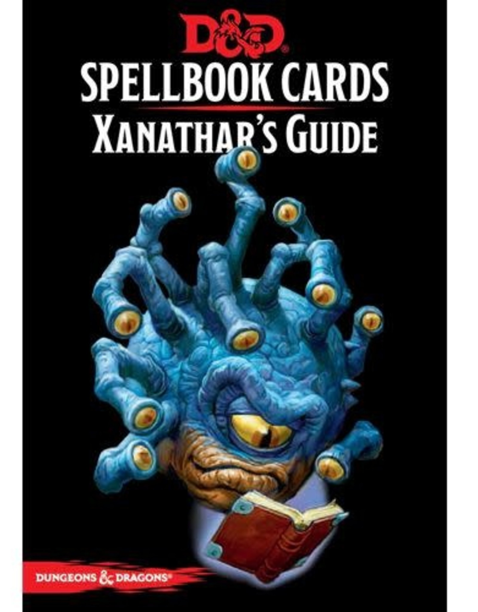 Gale Force Nine D&D Spell Cards: Xanathar's Guide To Everything