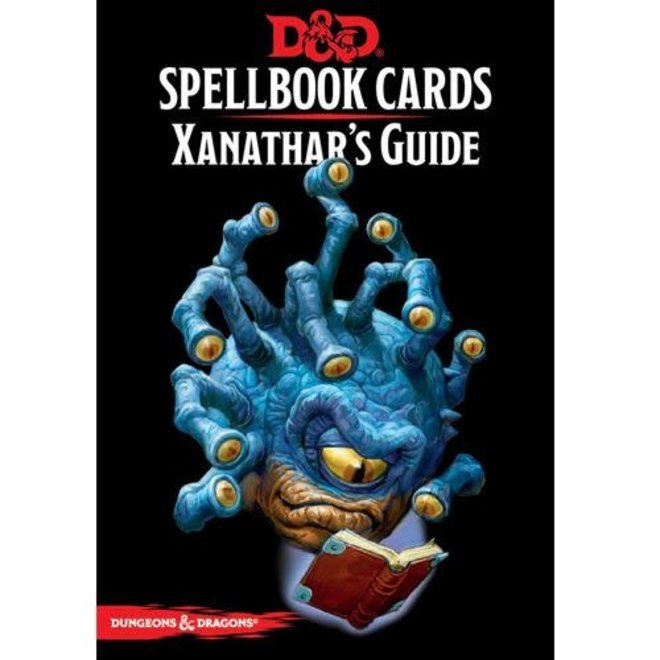 Dungeons & Dragons: 5th Edition Spell Cards - Xanathar's Guide To Everything