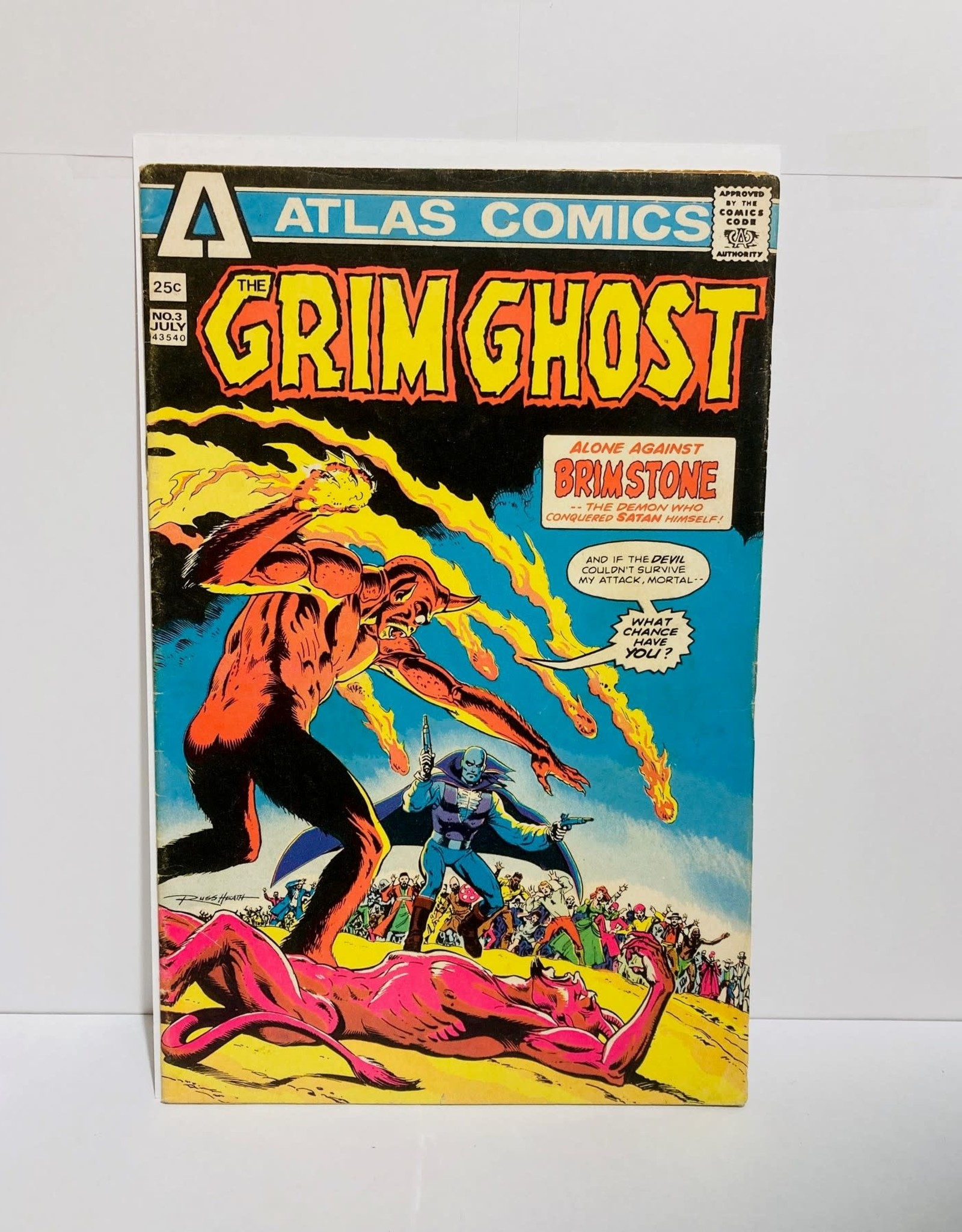 Atlas Comics Grim Ghost #3 (1975)