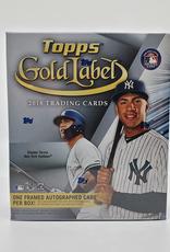 Topps 2018 Topps Gold Label Baseball Hobby