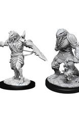 WizKids D&D NM: Male Dragonborn Fighter