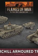 Battlefront Miniatures Ltd Churchill Armoured Troop