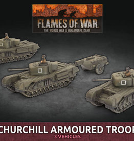 Battlefront Miniatures Ltd Churchill Armoured Troop