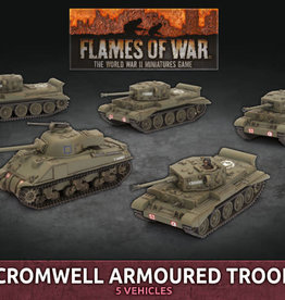 Battlefront Miniatures Ltd Cromwell Armoured Troop