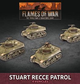 Battlefront Miniatures Ltd Stuart Recce Patrol