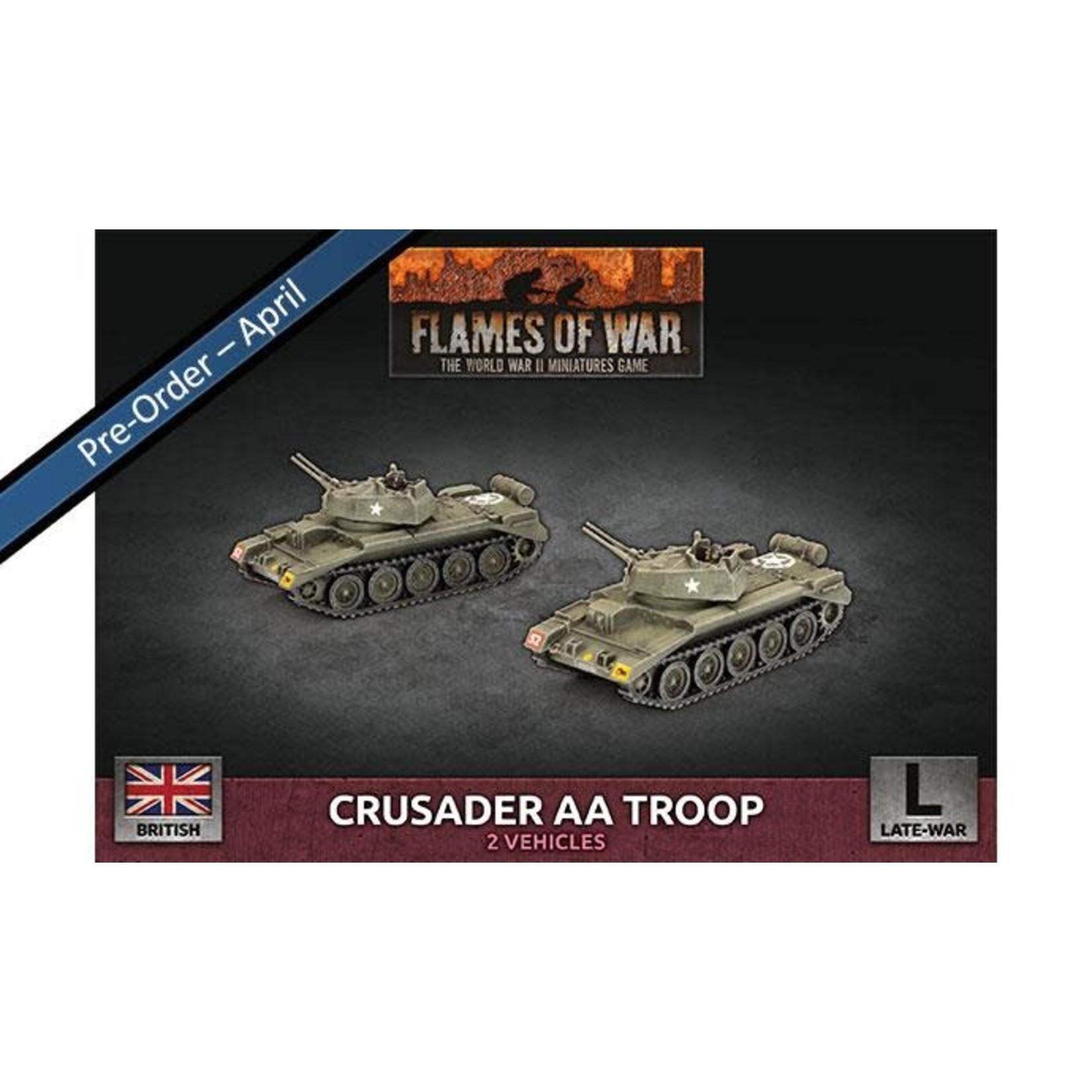 Battlefront Miniatures Ltd Crusader AA Troop