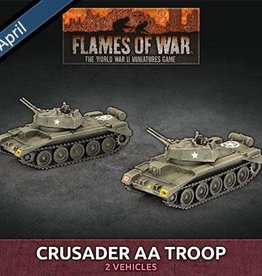 Battlefront Miniatures Ltd Crusader AA Troop