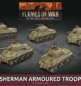 Battlefront Miniatures Ltd Sherman Armoured Troop