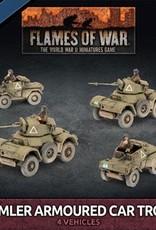 Battlefront Miniatures Ltd Daimler Armoured Car Troop