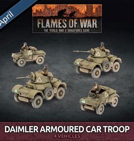 Battlefront Miniatures Ltd Daimler Armoured Car Troop