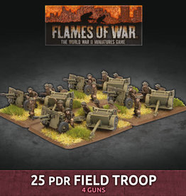 Battlefront Miniatures Ltd 25 pdr Field Troop