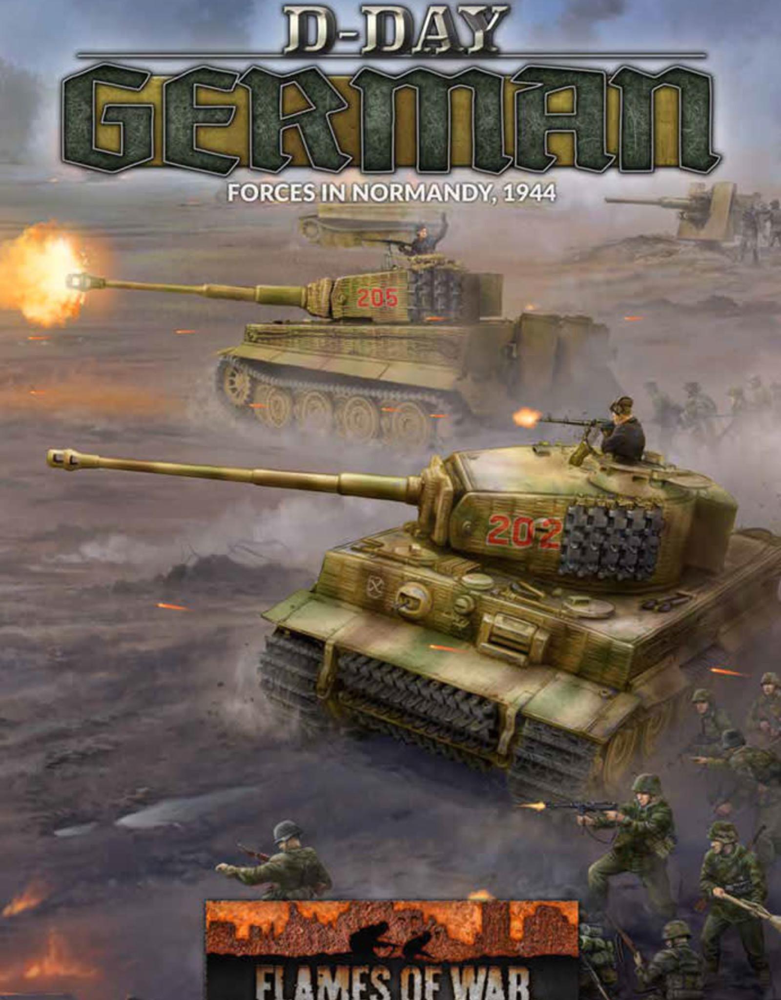 Battlefront Miniatures Ltd D-Day: Germans