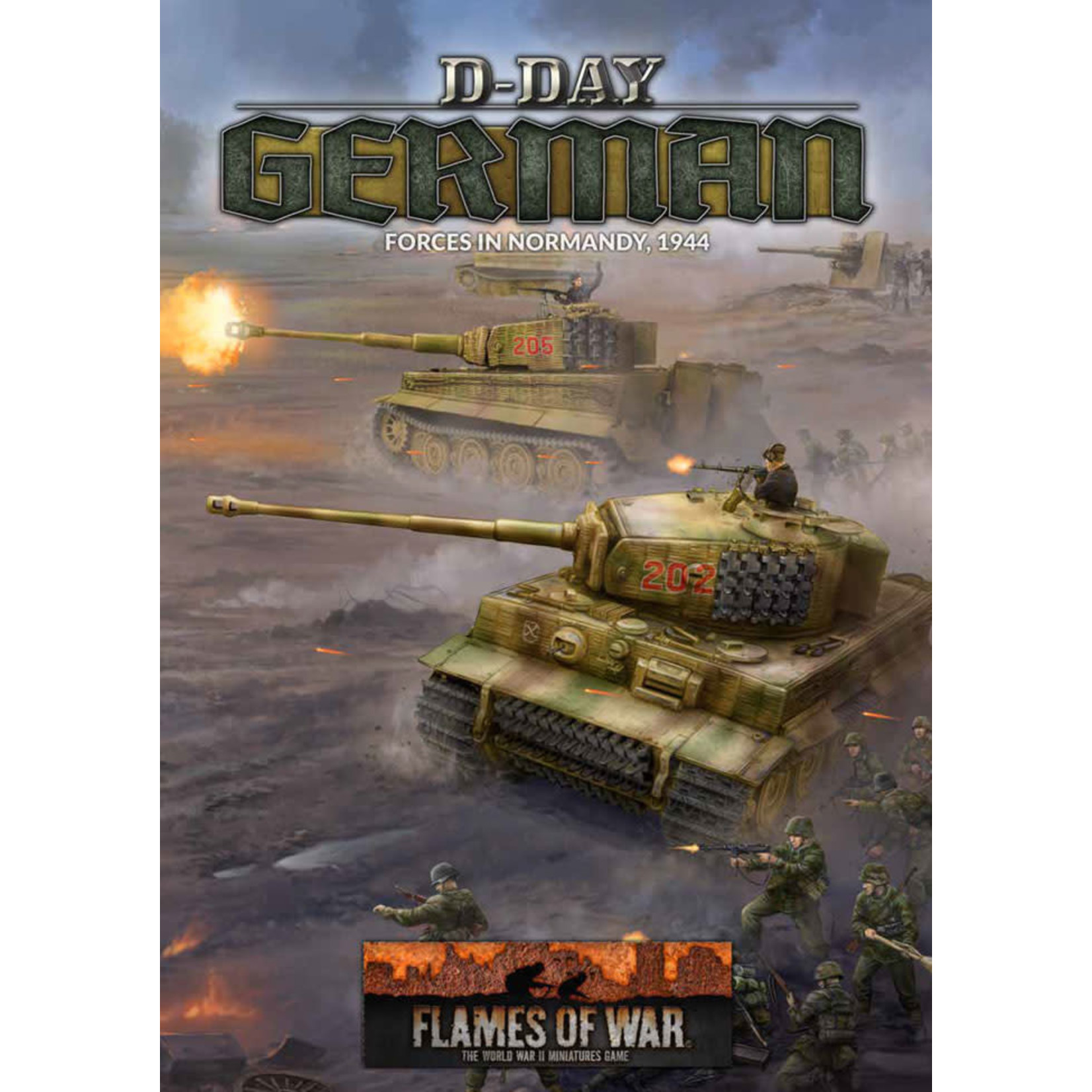 Battlefront Miniatures Ltd D-Day: Germans