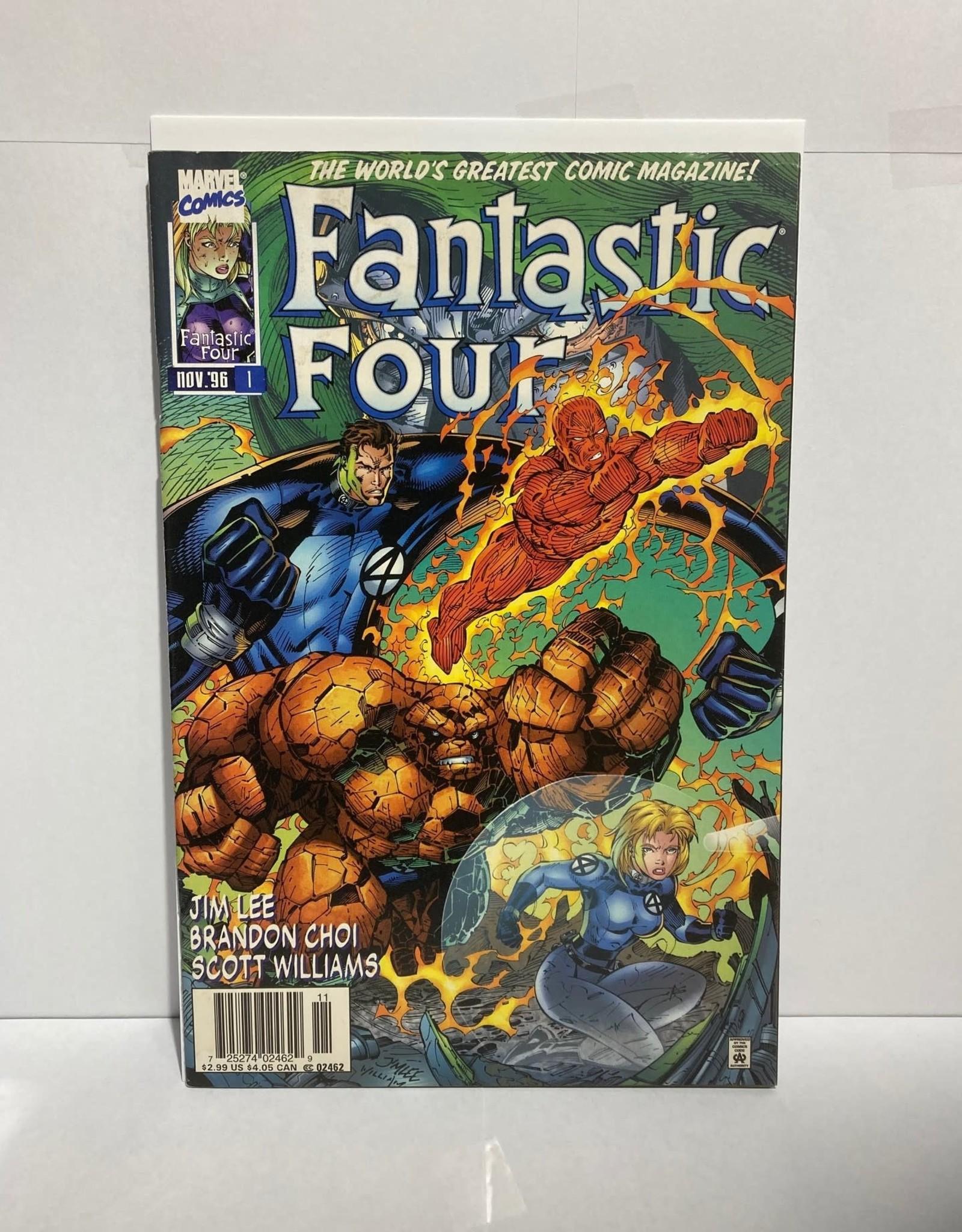 Marvel Comics Fantastic Four #1 (1996) cover A