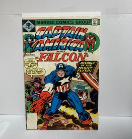 Marvel Comics Captain America #214 (1977) Last Kirby
