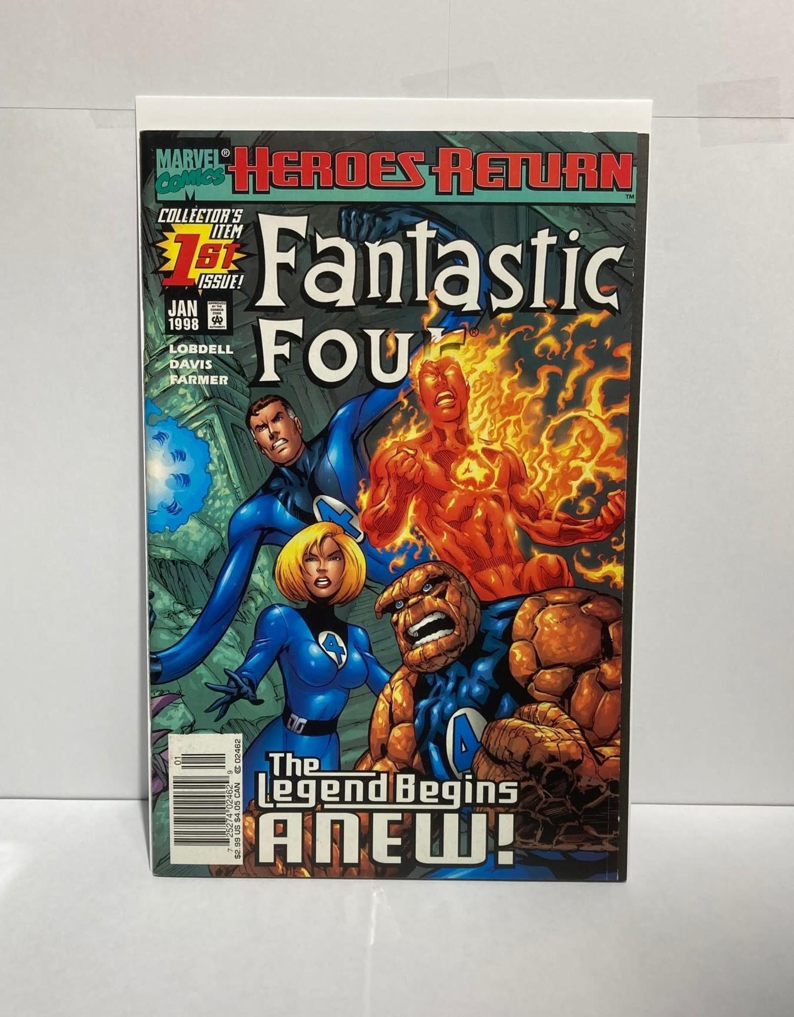 Marvel Comics Fantastic Four #1 (1998) 1st Valeria Richards Von Doom